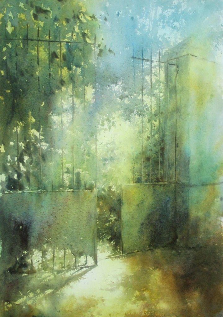 акварели художника David Chauvin - 07