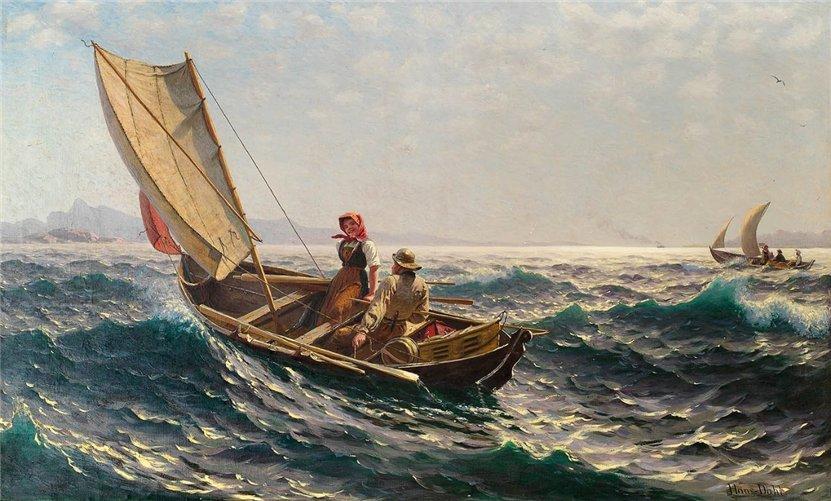 норвежский художник Hans Dahl - 04