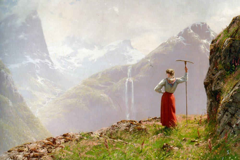 норвежский художник Hans Dahl - 05