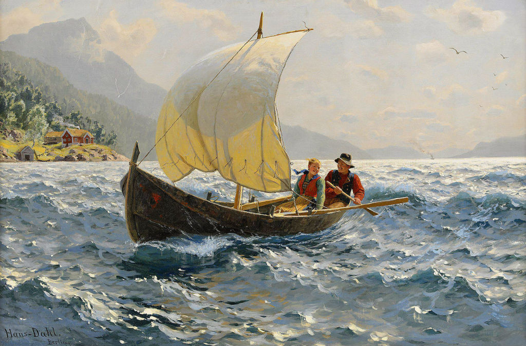 норвежский художник Hans Dahl - 10