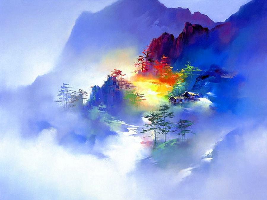 пейзажи художник Hong Leung -2- 01