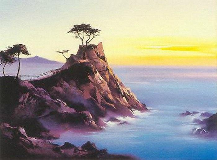пейзажи художник Hong Leung -2- 02