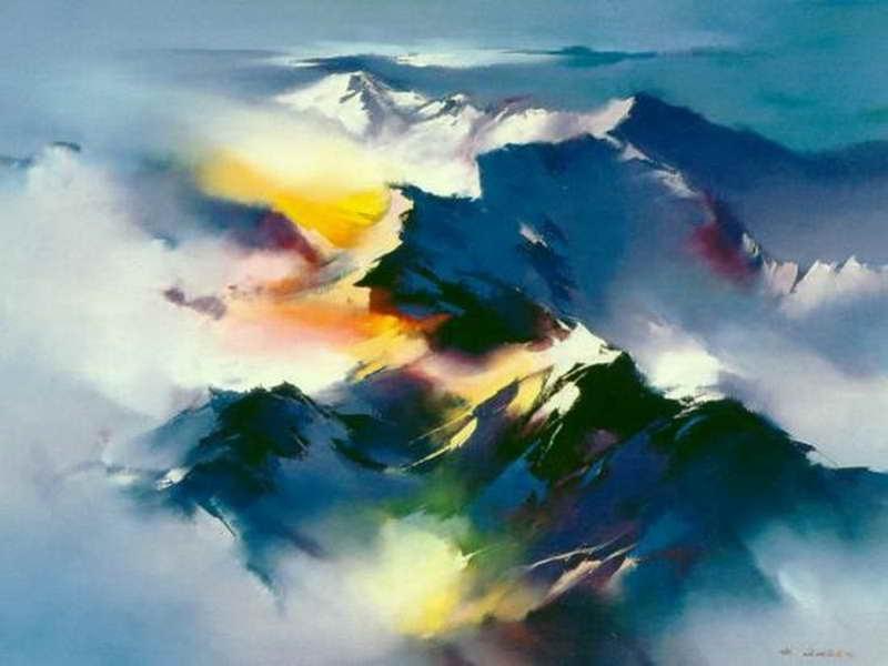 пейзажи художник Hong Leung -2- 03