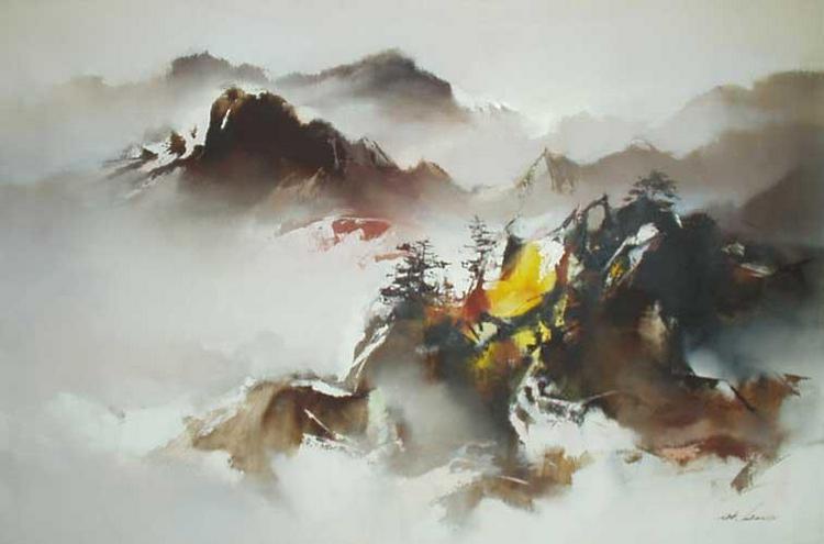 пейзажи художник Hong Leung -2- 04