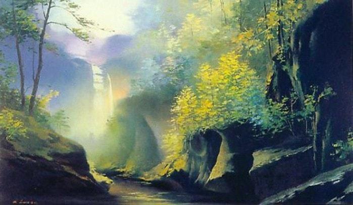пейзажи художник Hong Leung -2- 05