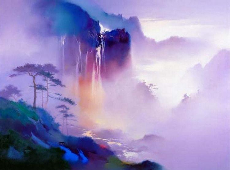 пейзажи художник Hong Leung -2- 06