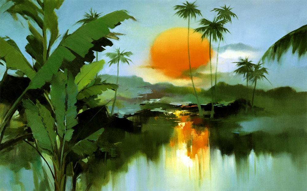 пейзажи художник Hong Leung -2- 08