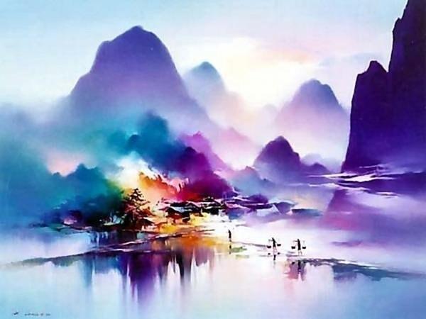 пейзажи художник Hong Leung -2- 09