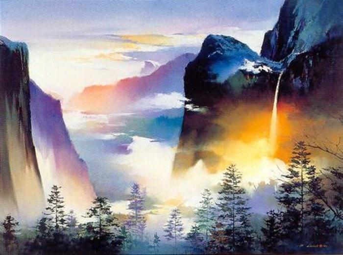 пейзажи художник Hong Leung -2- 10