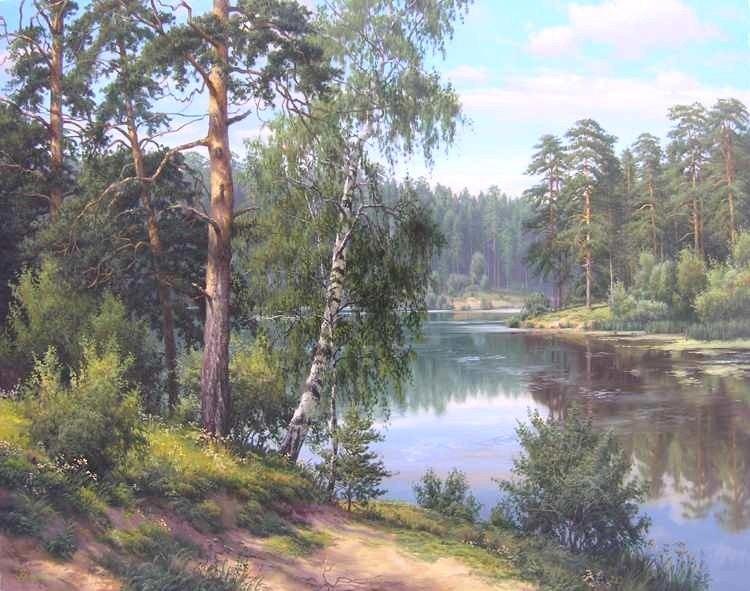 пейзажи художник Игорь Прищепа -2-05