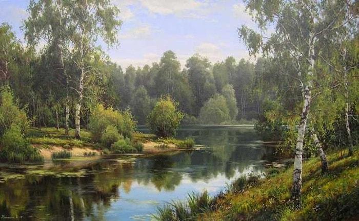 пейзажи художник Игорь Прищепа -2-06