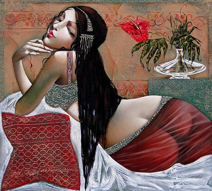 женский образ Ira Tsantekidou - 03