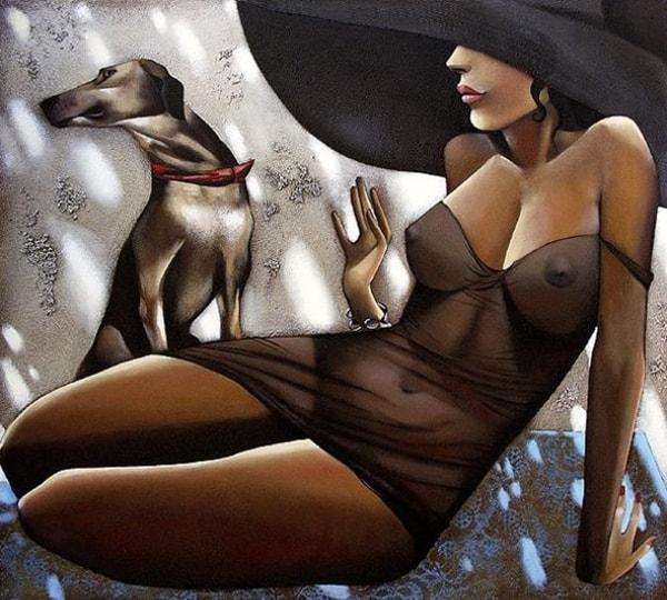 женский образ Ira Tsantekidou - 05