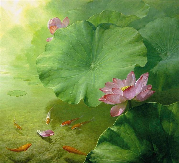натюрморты художника Jiang Debin - 01