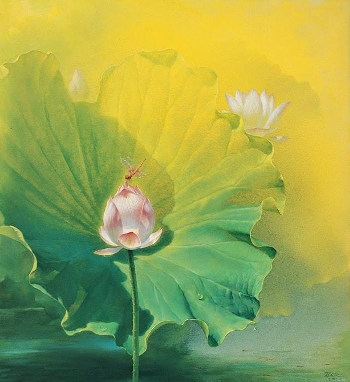 натюрморты художника Jiang Debin - 02