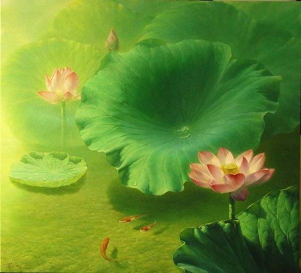 натюрморты художника Jiang Debin - 03