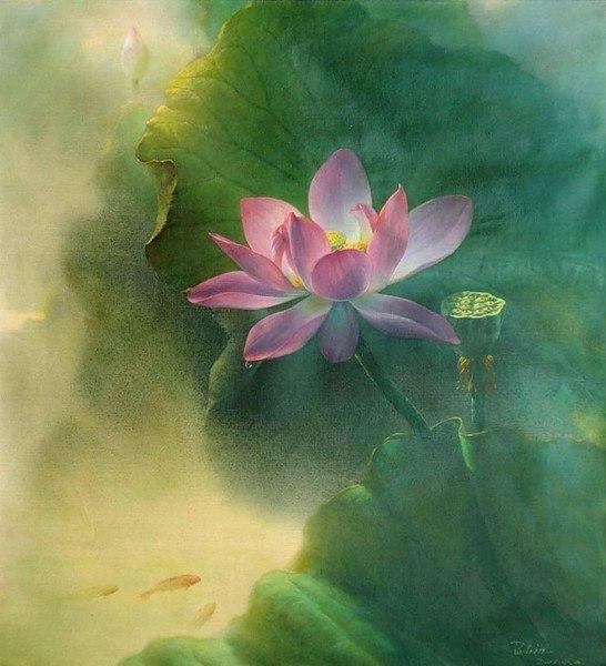 натюрморты художника Jiang Debin - 05