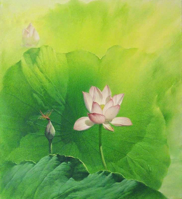 натюрморты художника Jiang Debin - 06