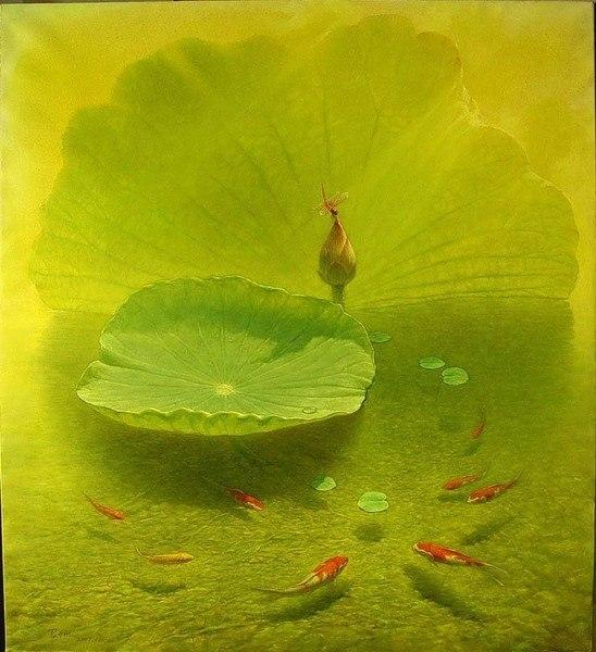 натюрморты художника Jiang Debin - 07