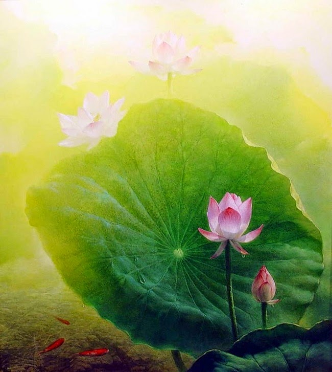 натюрморты художника Jiang Debin - 08