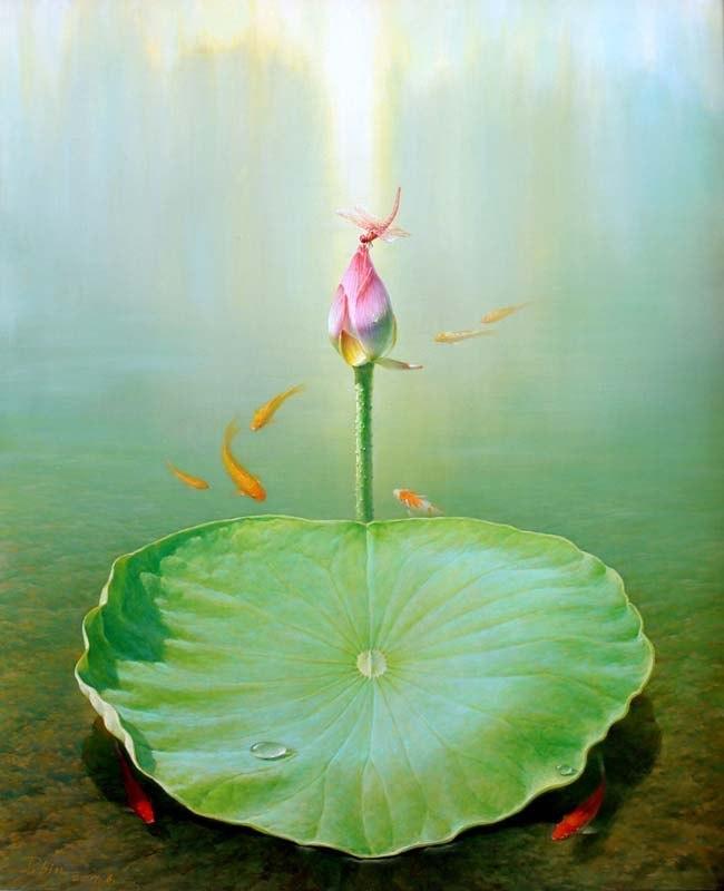 натюрморты художника Jiang Debin - 09
