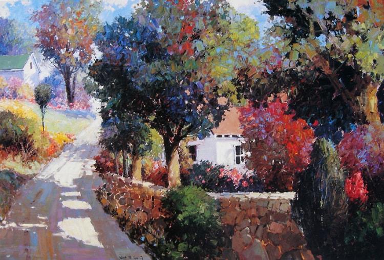 пейзажи художника Kent R. Wallis - 09