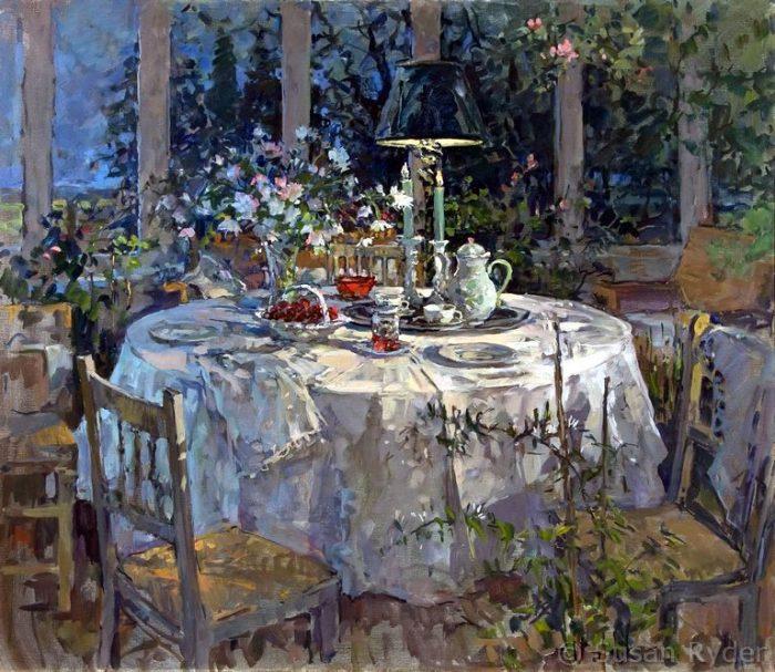 интерьерная живопись Susan Ryder - 02