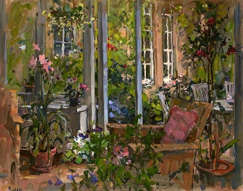 интерьерная живопись Susan Ryder - 03