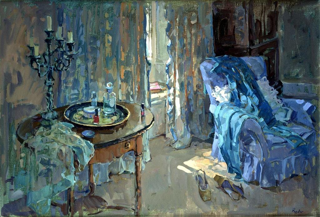 интерьерная живопись Susan Ryder - 04
