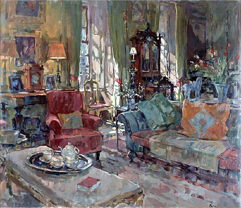 интерьерная живопись Susan Ryder - 08