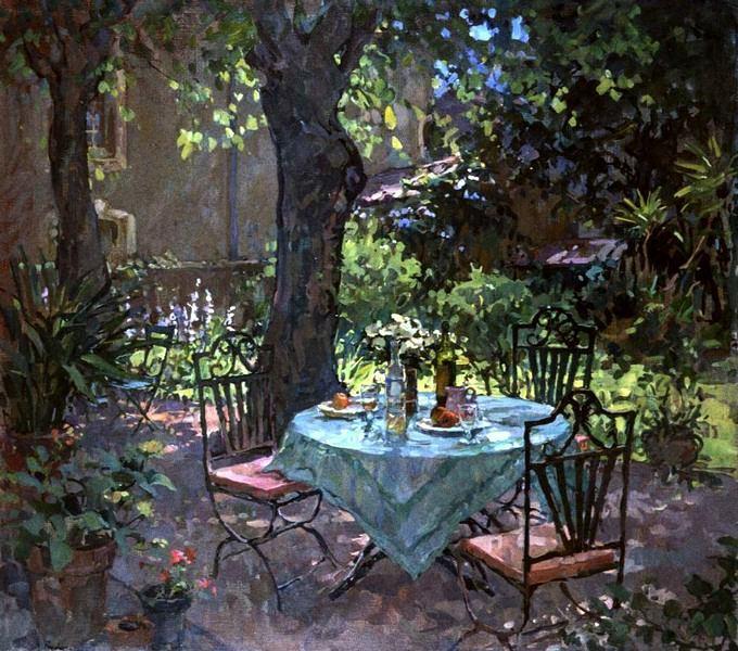 интерьерная живопись Susan Ryder - 09