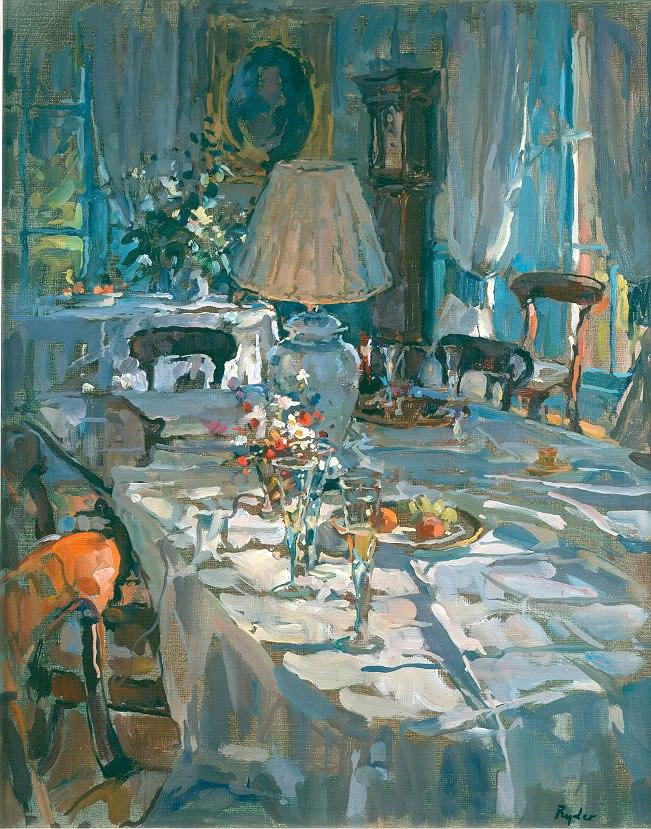 интерьерная живопись Susan Ryder - 11
