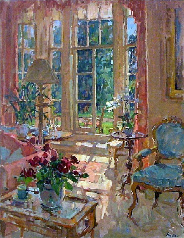 интерьерная живопись Susan Ryder - 12