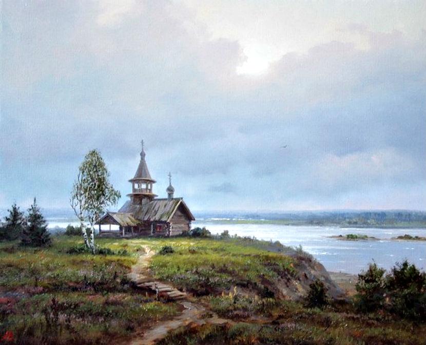 пейзажи Валерий Артамонов -2 - 01