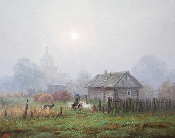 пейзажи Валерий Артамонов -2 - 03