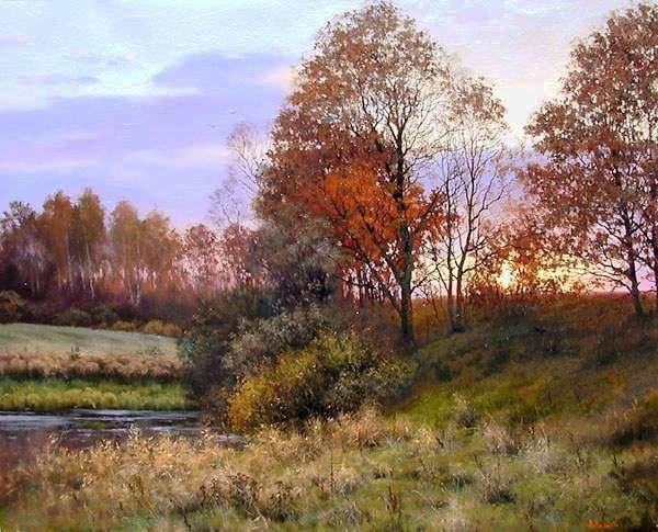 пейзажи Валерий Артамонов -2 - 05