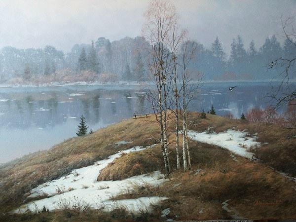 пейзажи Валерий Артамонов -2 - 07