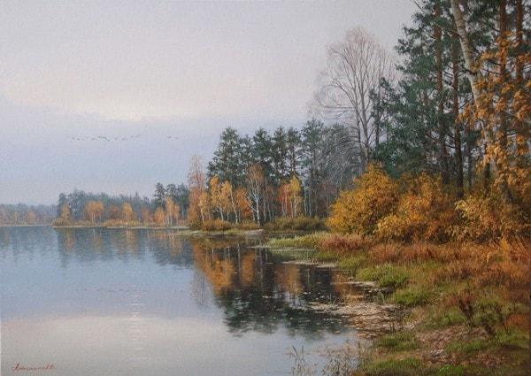 пейзажи Валерий Артамонов -2 - 08