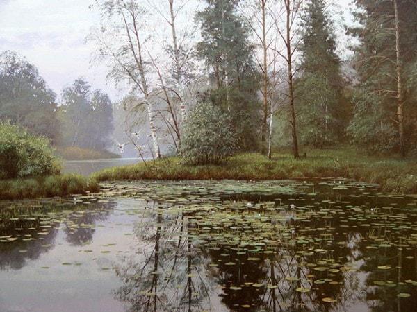 пейзажи Валерий Артамонов -2 - 09