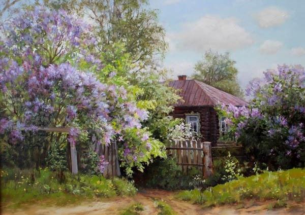 пейзажи Валерий Артамонов -2 - 10