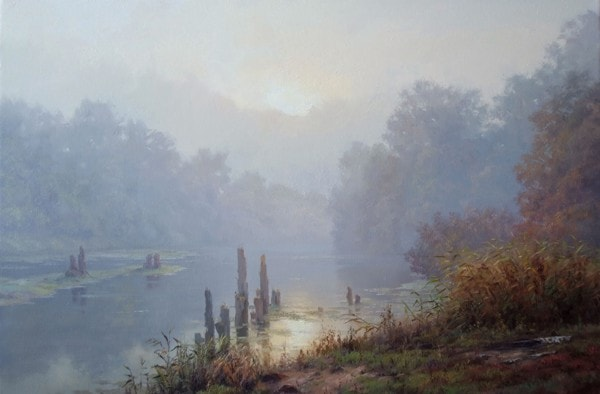 пейзажи Валерий Артамонов -2 - 11