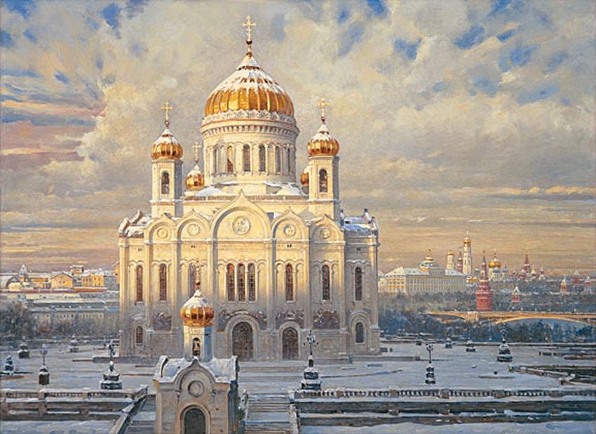 пейзажи Василий Нестеренко -2-01
