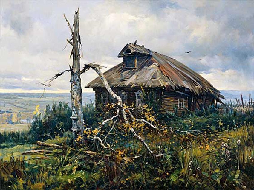 пейзажи Василий Нестеренко -2-02