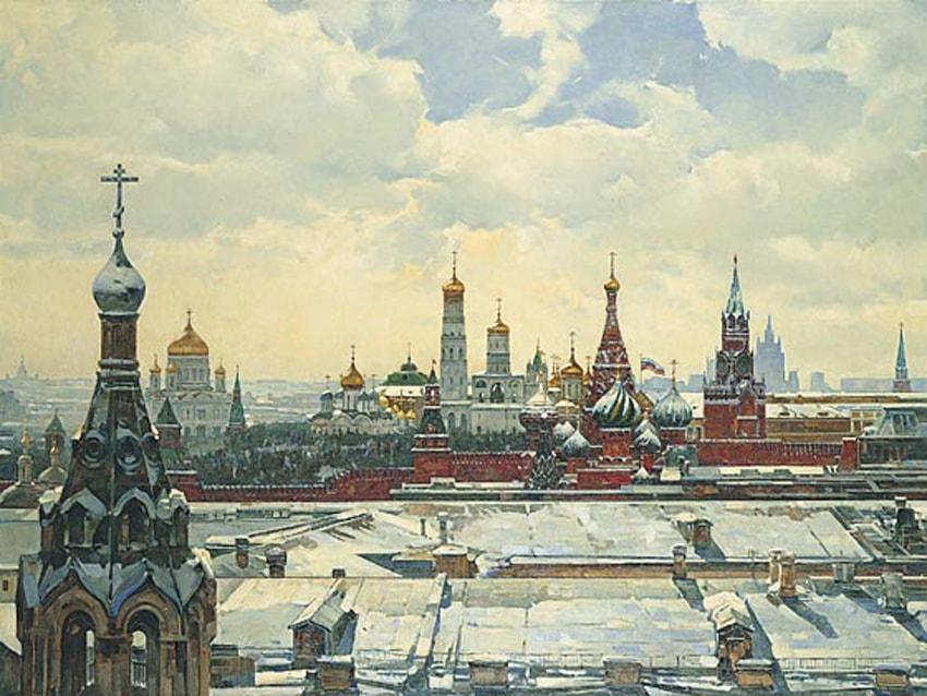 пейзажи Василий Нестеренко -2-03