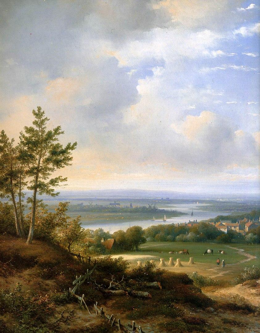 городские пейзажи Lodewijk Johannes Kleijn - 12